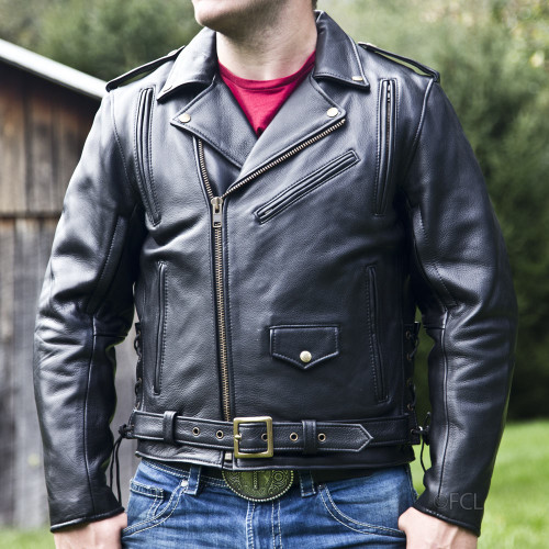 Men's Classic Motorcycle Jacket I
