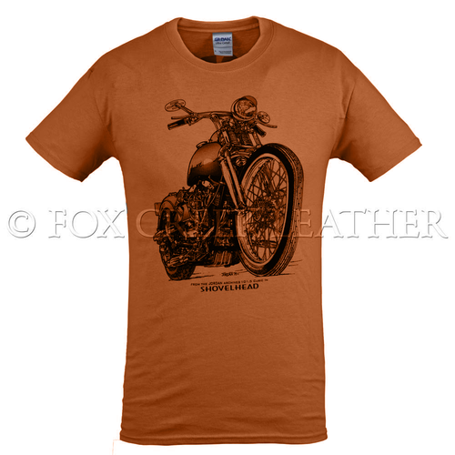 Fox Creek Classic Design TShirt - Orange