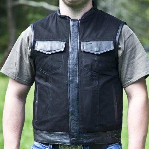 Men's Denim Rebel Vest
