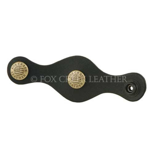Leather Vest Extender with FCL antique brass snaps