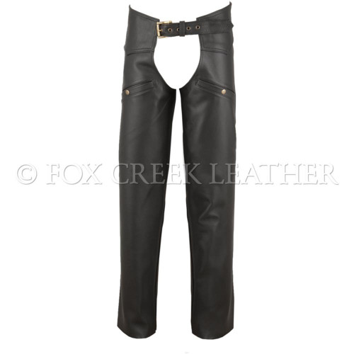 Build Your Own Leather Chaps - Size L (Clearance #66)