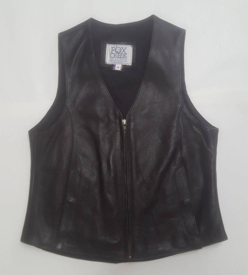 Women's Leather Vest - Size Small (Clearance #20)