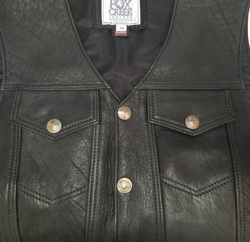 Picture of front chest pockets