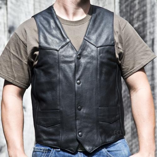 Men's Classic Motorcycle Vest