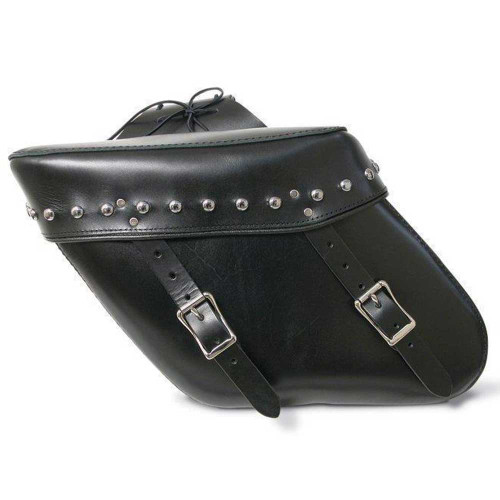 Studded Wide Angle Saddlebag