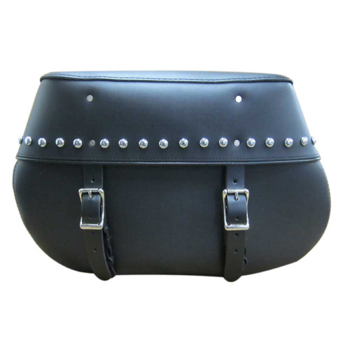 Studded Touring Motorcycle Saddlebags