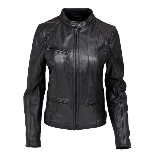 Women's Leather Crosstown Jacket