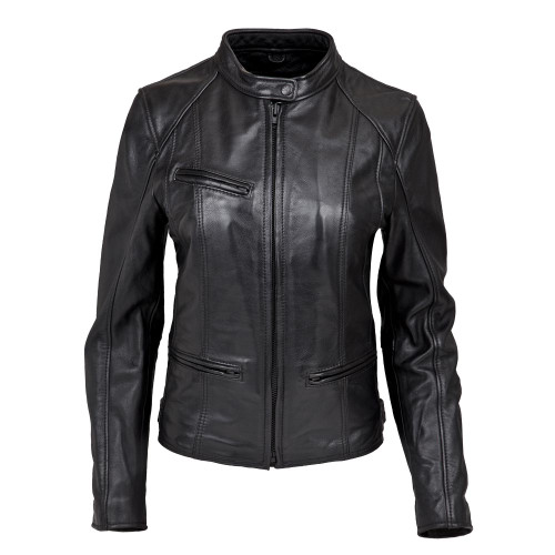 Women's Leather Crosstown Jacket