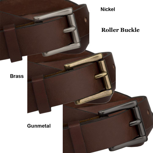 Fox Creek Leather Brown Belt