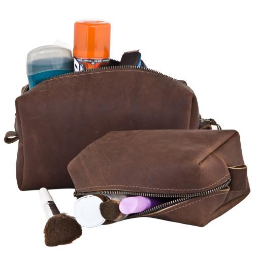 Harness Leather Dopp Kit
