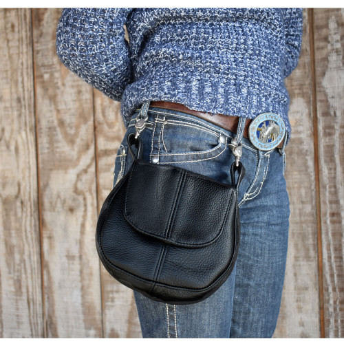 Leather Belt Purse