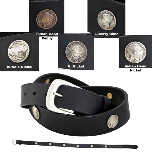 FCL Coin Concho Belt