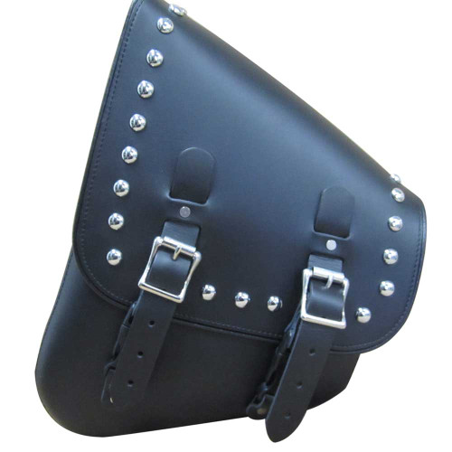 Studded Leather Swing Arm Bag