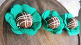 Ruffles Flower Paper Wrapper. Forminha para doces.