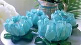 Queen Rose Flower  Wrapper combination for a Baby Reveal party.  Forminha para Doces Rosa Maior