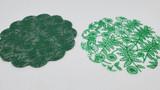 Green Truffle Plastic Liner in 7 cm or 9 cm sizes. Tapetinho para doces de tamanho 7 cm ou 9 cm.