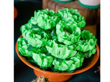 San German Chocolate Truffle Flower Wrapper. Forminha para Doces San German