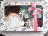 Kids DIY Baker's Cookie / Cupcake Decoration Gift Box. Kit Confeiteiro.