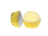Gold Chocolate Truffle Candy Cup Liner.  Forminha Brigadeiro Douradao.