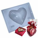 Chocolate Heart Mold 500g Shell