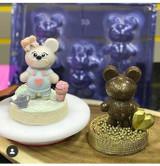 Baby Bear Mold, 3 Part Mold
