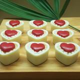 Heart Small Truffle, 3 Part Mold - 5 Piece Shell