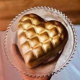 Heart Pillow Chocolate Mold 500g - Forma Coracao 500g