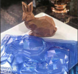 Diamond Bunny Easter 3 Part Mold.