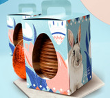 Easter HOPE Collection Stand-up Easter Egg Box. Adaptable for egg of 250g, 350 or 500g sizes. Caixa Esperanca de Ovo em Pe.