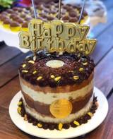 Happy Birthday Cake Topper - Chocolate Mold