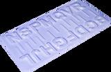 Large Alphabet Lollipop Molds No. 01