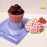 Giant Cupcake Chocolate Mold.