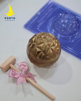 mm Geometric Sphere 3 Part Mold