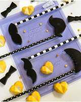 Mustache Lollipop Chocolate Mold - 1 Part