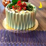 Origami Narrow Texture Cake Sheet Mold - Porto Formas 860