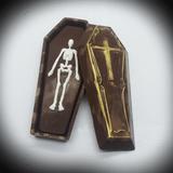 Halloween Coffin Chocolate Mold BWB - 3 part Mold