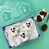 Halloween Ghost Hot Cocoa Bomb Chocolate Mold - BWB 3 Part Mold