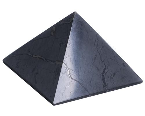 Shungite Pyramid Polished Natural Shungites Stone