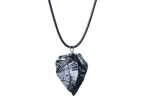 Elite Shungite Pendant Necklace Nature Stone