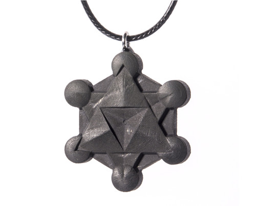 Metatrons Cube Pendant Necklace