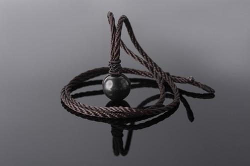 Shungite Orb Pendant Necklace