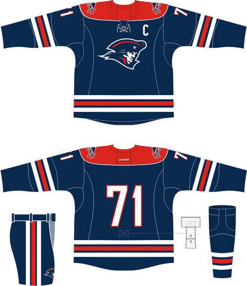 Player's Package Boston Battalion (Home+Away Jersey)