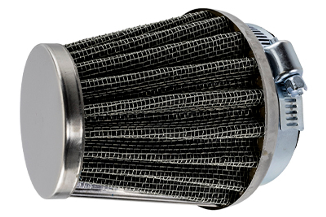 2-Stroke Carburetor K&N Style Metal Mesh Air Filter