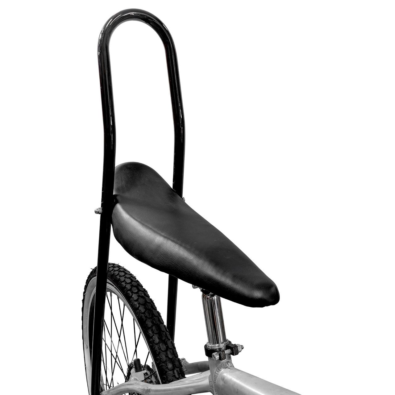"26/"" Banana Saddle Vinyl All Black lowrider cruiser bicycle seat chopper"