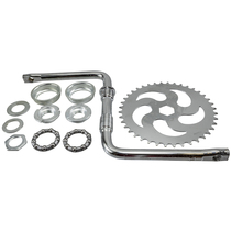 1 Piece Wide Crank Pedal Kit