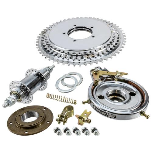 Freewheel Sprocket & HD Axle Kit w/Brake
