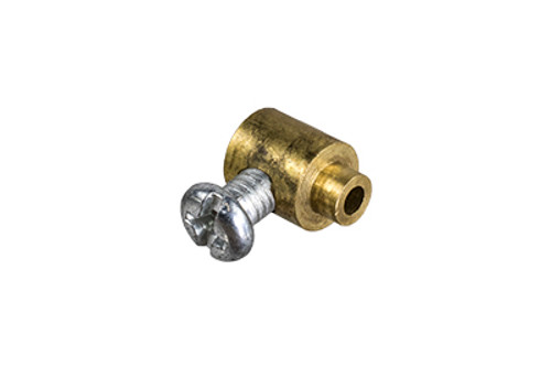 Brass Cable End with Screw (Part #31)