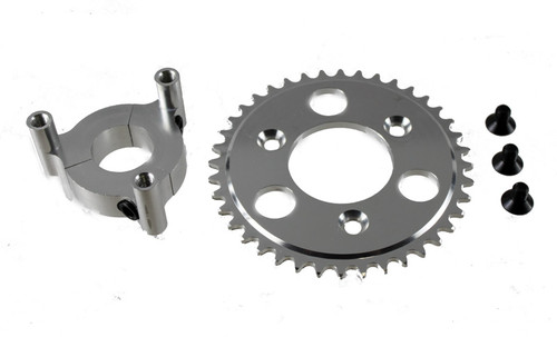 CNC Aluminum Heavy Duty Bicycle Engine Sprocket Adapter For Motorized Bikes  - 40 Tooth