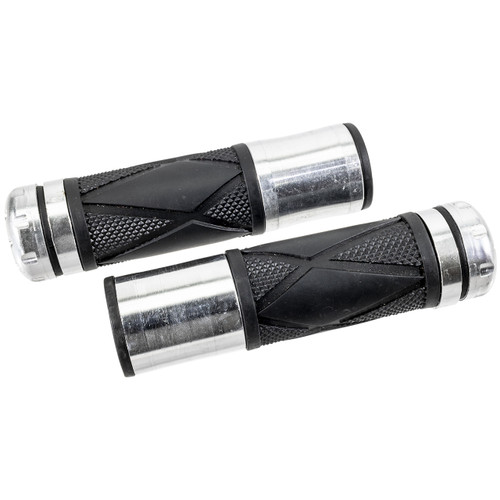 CNC Aluminum Racing Handle Bar Grips with Rubber
