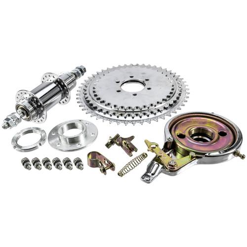 Solid Sprocket & HD Axle Kit w/Brake